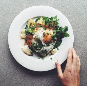 Breakfast salad -by Jessica Cox Nutritionist