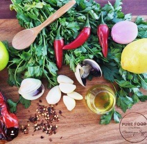 Organising a Cooking Class - Ingredients - Putia cooking class