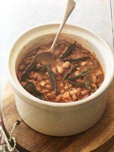 Mother's Day Recipe Winners- Borlotti Beans in My Taste of Sicily