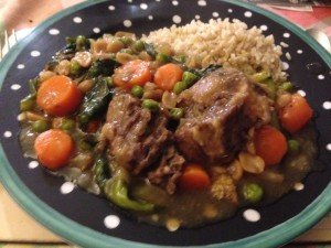 Mother's Day Recipe Winners- Tricia Quan Oxtail stew