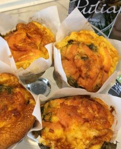 How to do breakfast on the run and stay healthy - Frittata