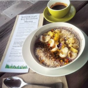 Black sticky rice pudding - Top 5 Egg-Free Breakfast Options at Putia