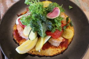 What is the food like at Putia: Seafood Pizza