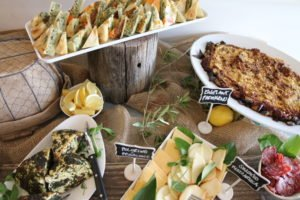 Italian Long Table Lunch - Salami cheese antipasto 1 Putia Pure Food Kitchen