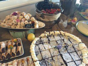 Italian Long Table Lunch - Dessert Table 2 Putia Pure Food Kitchen