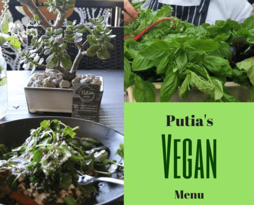 Going Vegan at Putia - Putia's Vegan Menu by Chef Dominique Rizzo