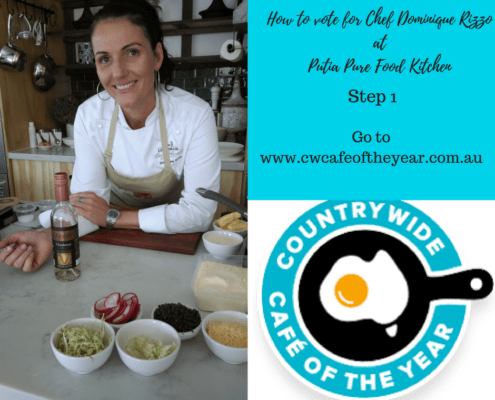 Countrywide Cafe of the Year Competition Chef Dominique Rizzo how to vote