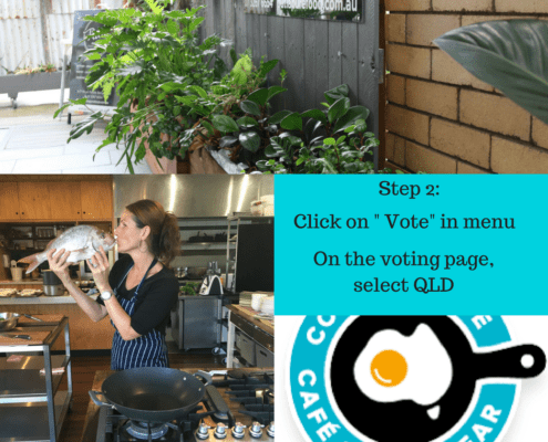 Countrywide Cafe of the Year Competition - Chef Dominique Rizzo How to vote
