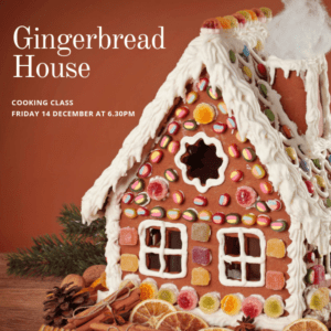 Christmas parties - Why most Christmas Parties are ho ho hum Ginger Bread House Cooking Class Putia Pure Food Kitchen