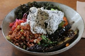 Fermented food - Putia Pure Food Kitchen vegetarian power bowl