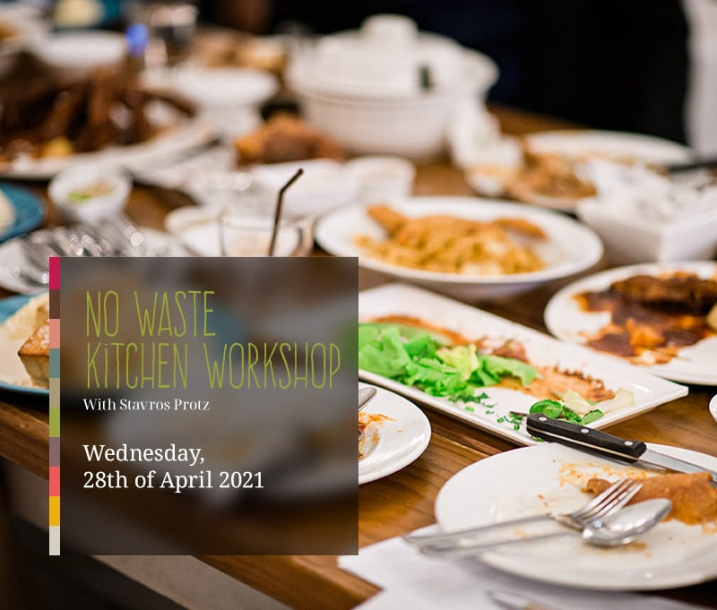 No Waste Kitchen Cooking Class on April 28